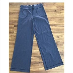 Womens Lululemon Loose Wide Leg Pants Sz 10 37
